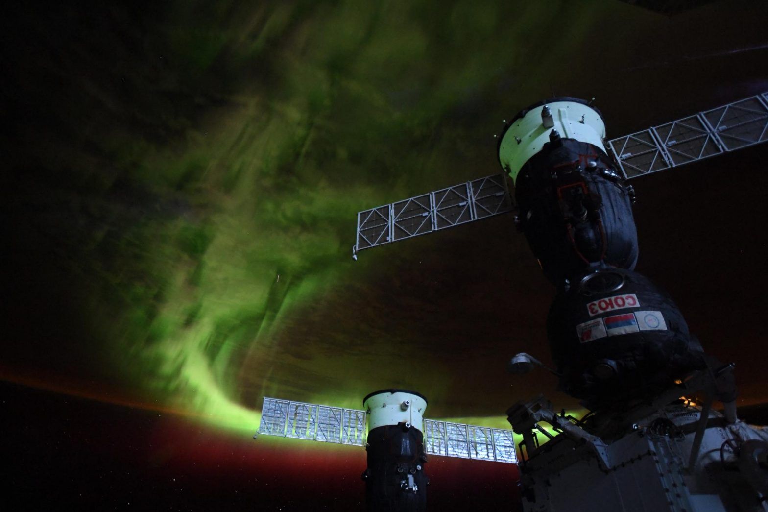 Aurora From the Space Station